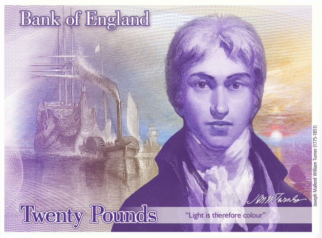 20 pound bank note